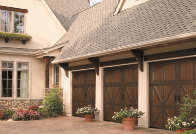 Amarr Classica collection, Carriage house style, Steel garage door