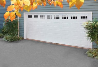 Amarr Olympus collection, Traditional style, Steel garage door