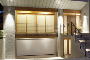 Contemporary garage doors Guelph, ON