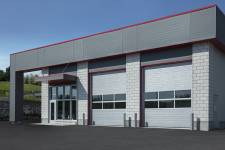 What does your commercial garage door say about your business?